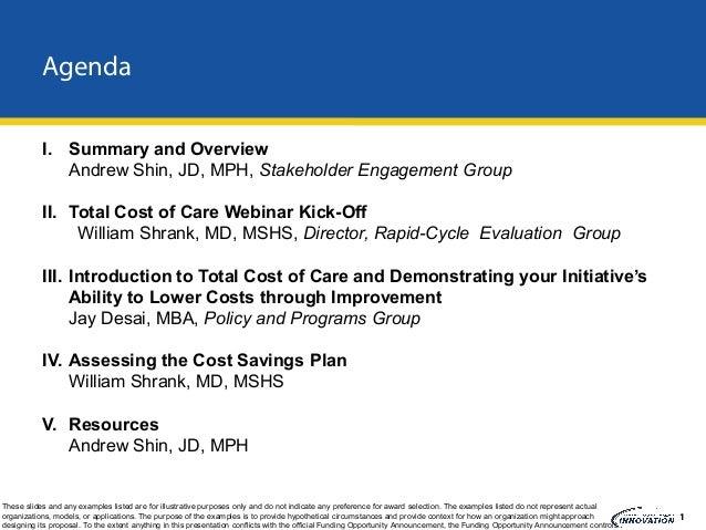 Health Care Innovation Challenge Webinar #3 December 13, 2011 Slide 2