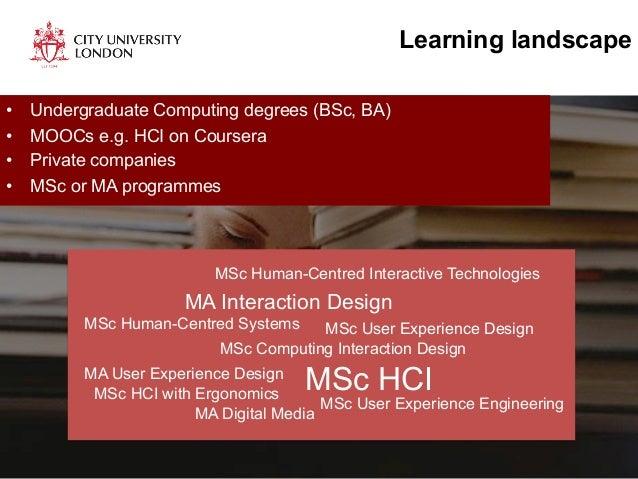 Designing a Masters Curriculum Dr - Simone Stumpf, City