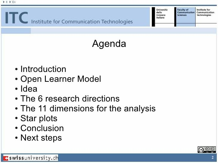 Supporting Learners in Adaptive Learning Environments through the enhancement of the Student Model Slide 2