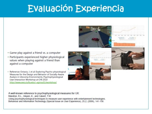 http://www.affdex.com/technology/affdex-demo/ Evaluación Experiencia
