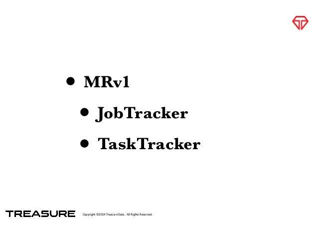 Copyright*©2014*Treasure*Data.**All*Rights*Reserved. • MRv1 • JobTracker • TaskTracker