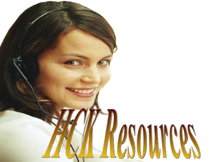 HCK Resources