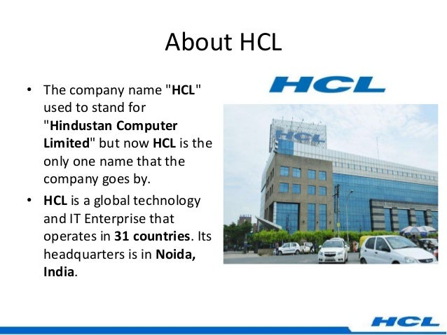 hcl co operate strategy Hcl has been strongly supporting the game in india since 2003 though the hcl the 16th hcl international bridge championship will be held from august 9 - 14, 2018 at the.