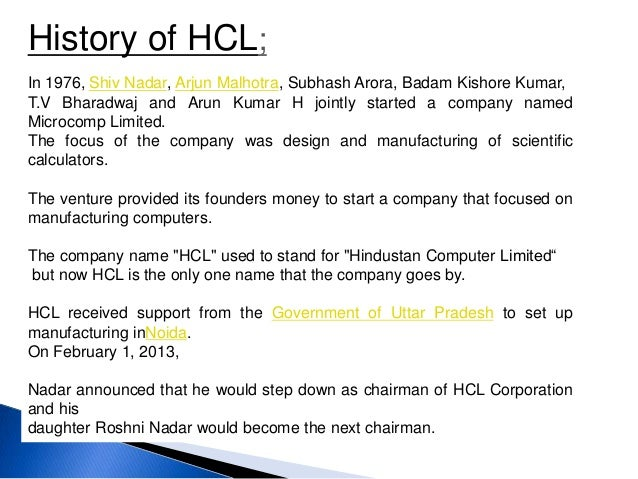 hcl corporate ethics Impax laboratories is an integrated specialty pharmaceutical company focused on developing, manufacturing and marketing generic and specialty pharmaceutical products.