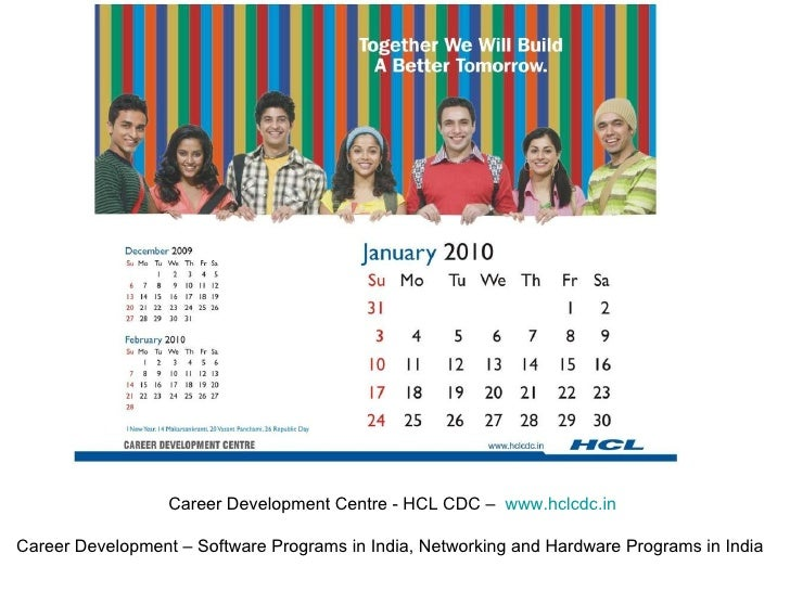 Career Development Centre - HCL CDC –  www.hclcdc.in Career Development – Software Programs in India, Networking and Hardw...