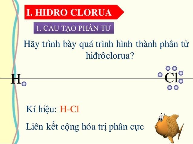 Cấu Tạo Phân Tử; 6. I. Hidro Clorua ...