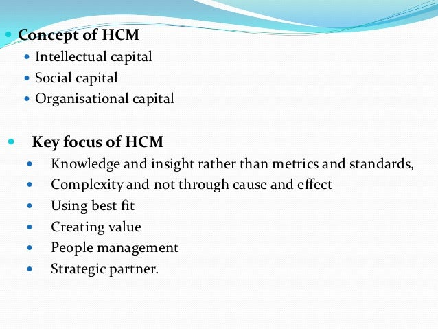 managing human capital essays In human resource management assignment writing, composing hr essays is  the most common task that students are entrusted with but human resource.