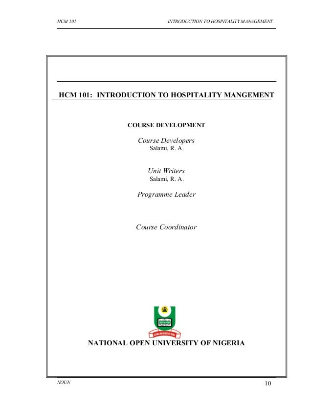 introduction to hospitality management Here is the best resource for homework help with hsp_mgmt 1043 : intro to hospitality management at missouri (mizzou) find hsp_mgmt1043 study guides, notes.
