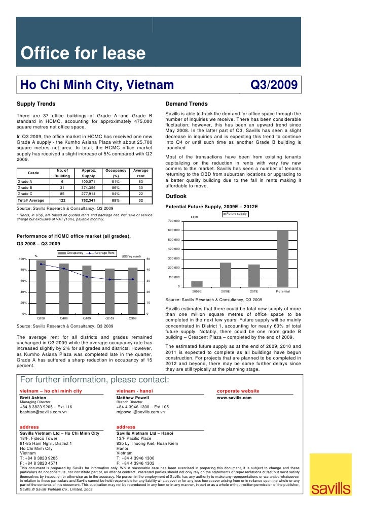 Office for lease  Ho Chi Minh City, Vietnam                                                                               ...