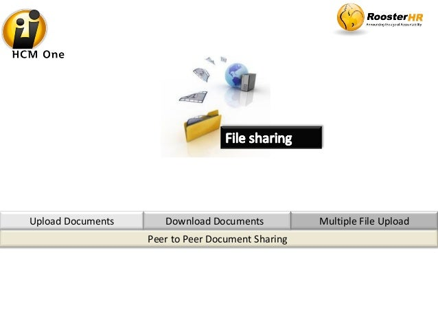 Peer to Peer Document Sharing Upload Documents Multiple File UploadDownload Documents