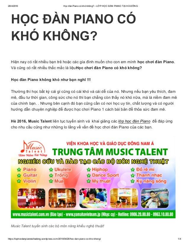 28/4/2016 HọcđànPianocókhókhông?–LỚPHỌCĐÀNPIANOTẠIHÀĐÔNG https://lophocdanpianotaihadong.wordpress.com/2016/0...