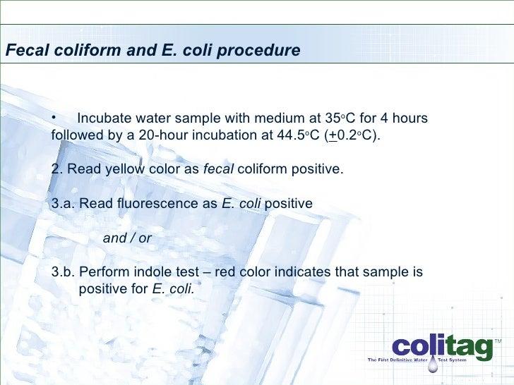 Colitag 16 - 48 Hour Presentation