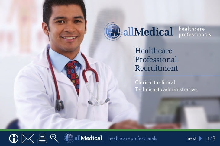 Healthcare             Professional             Recruitment             Clerical to clinical.             Technical to adm...