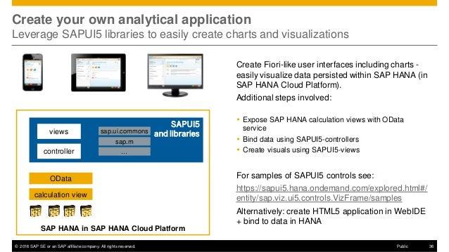 SAP HANA Cloud Platform Expert Session - SAP HANA Cloud Platform Anal…