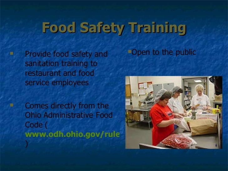 saftey training in food service Employees´ food safety knowledge and practices in identify food safety training needs of retail foodservice employees to prevent other one during service.