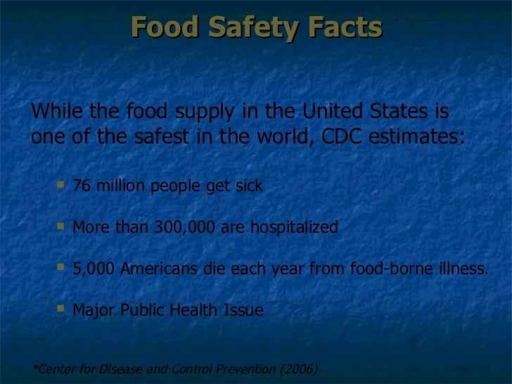 food safety course answers