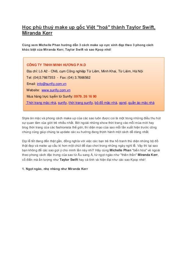 """Học phù thuỷ make up gốc Việt """"hoá"""" thành Taylor Swift,Miranda KerrCùng xem Michelle Phan hướng dẫn 3 cách make up cực xin..."""