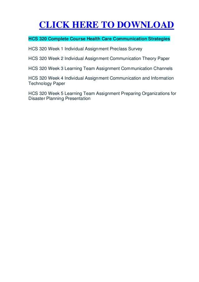 HCS 320 UOP Homework,HCS 320 UOP Tutorial,HCS 320 UOP Assignment,HCS 320 UOP Course Guide
