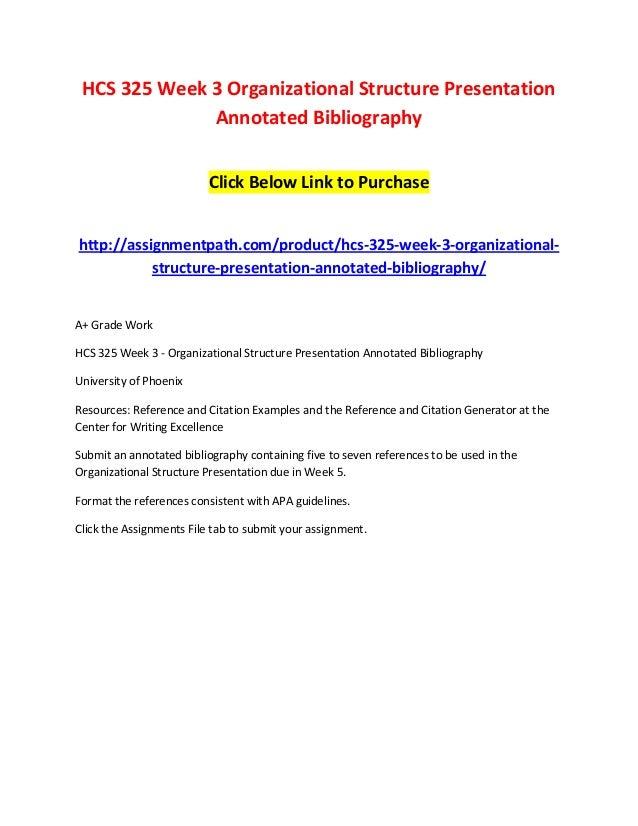 hcs 325 organizational structure powerpoint presentation