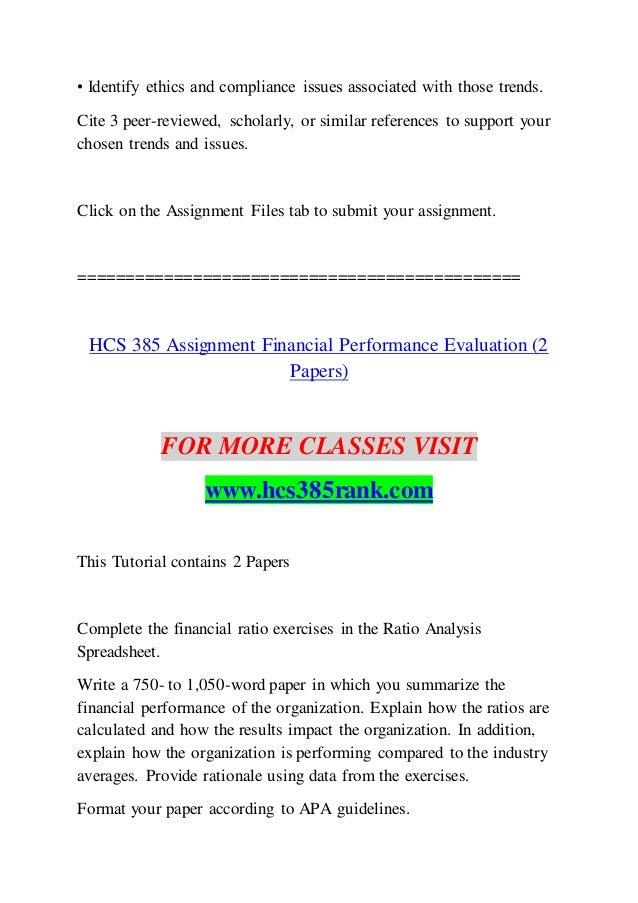 HCS 385 RANK Education Your Life / hcs385rank com