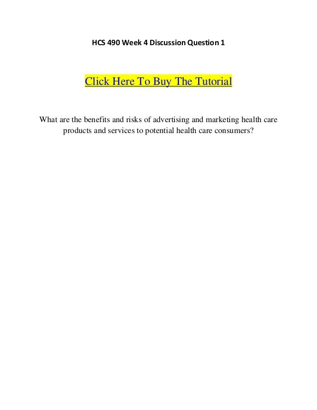 HCS 490 help Minds Online/uophelp.com