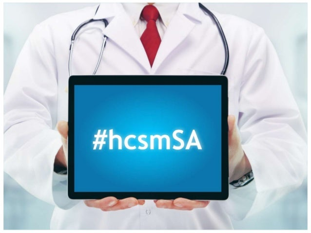 The future potential for healthcare social media in South Africa