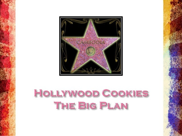 Hollywood Cookies Introduction Slide 1