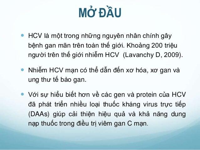 DDAs trong điều trị viêm gan C Slide 2