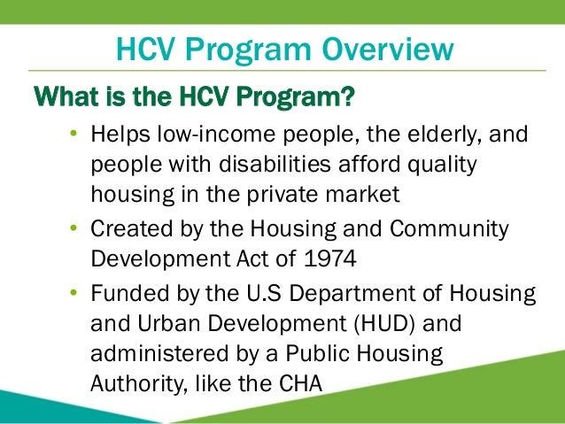 Housing Choice Voucher Program At-A-Glance