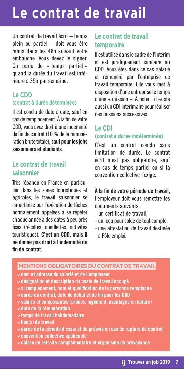 Guide Trouver Un Job 2019 Crij Bretagne