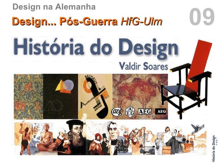 Hist ria do design p s guerra hfg ulm hd09 for Hfg ulm design
