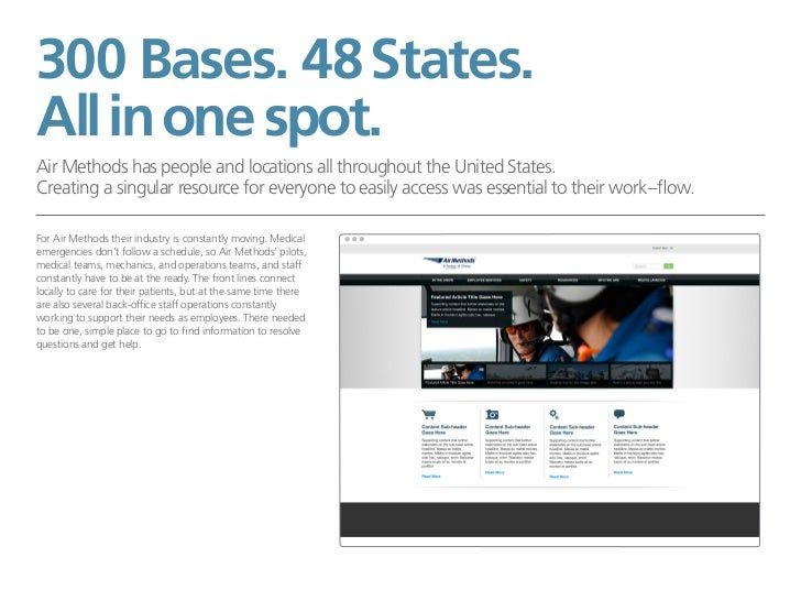 300 Bases. 48 States.All in one spot.Air Methods has people and locations all throughout the United States.Creating a sing...