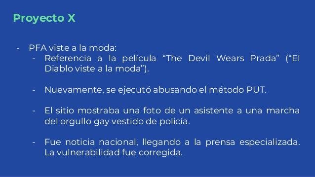 """Proyecto X - PFA viste a la moda: - Referencia a la película """"The Devil Wears Prada"""" (""""El Diablo viste a la moda""""). - Nuev..."""