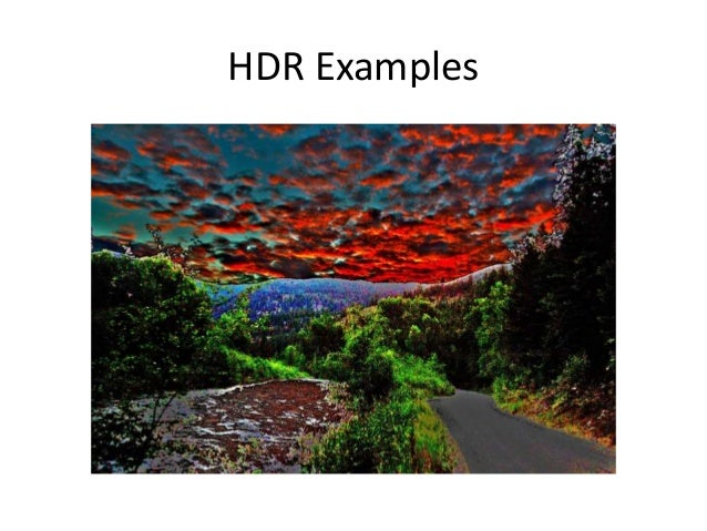 HDR Examples