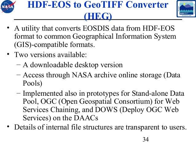 HDF-EOS APIs, tools, etc