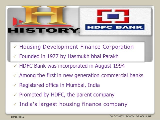 HDFC Bank: Personal Banking Services