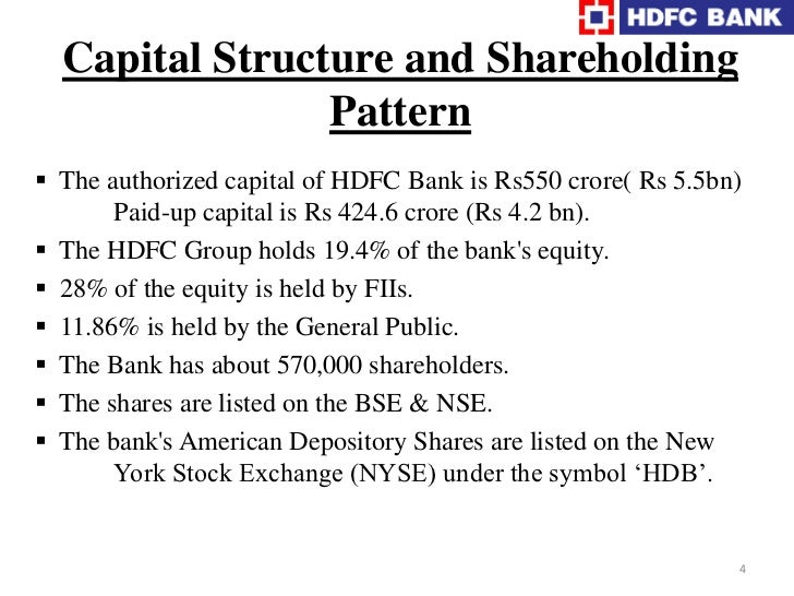 """Incorporated in  August 1994,in the name of                   """"HDFC Bank Ltd."""""""