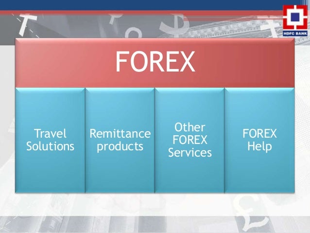 Forex department