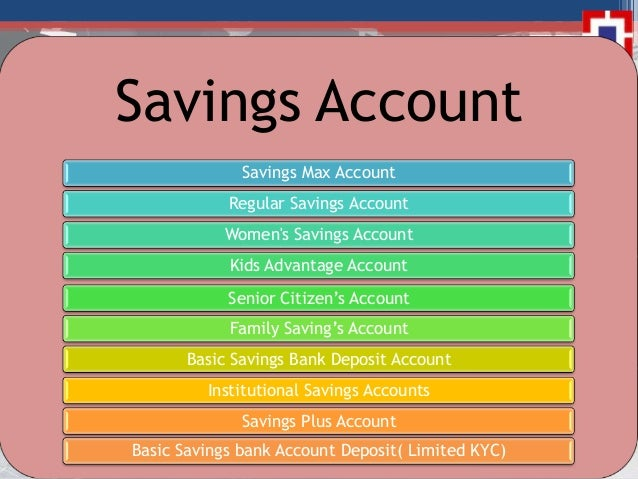 hdfc bank current account types