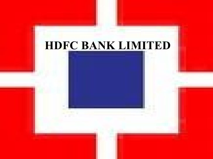 HDFC BANK LIMITED