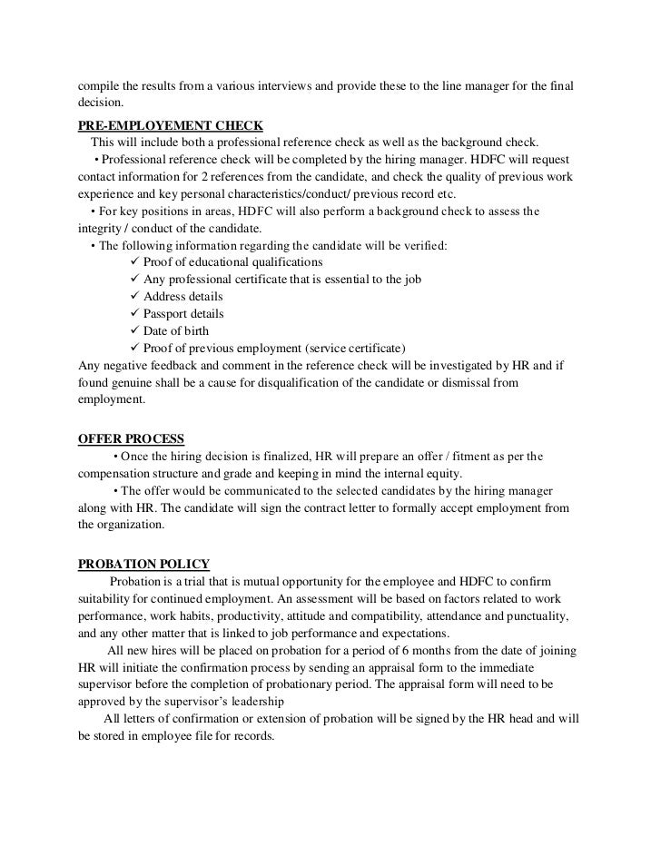 Internal Job Offer Letter from image.slidesharecdn.com
