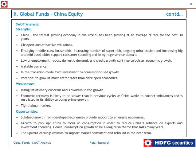 swot analysis on chinese economy China is the leading and quickly growing country, which has strong economy and it has huge number of industry in all segments it has proved a strong power.