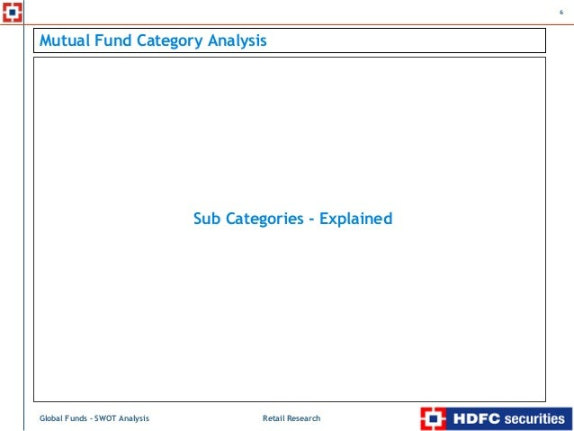 swot anaylsis of hdfc mutual fund Swot analysis swot analysis is done for a company here swot analysis of icici bank is made to understand the positioning of the bank better: mutual fund.