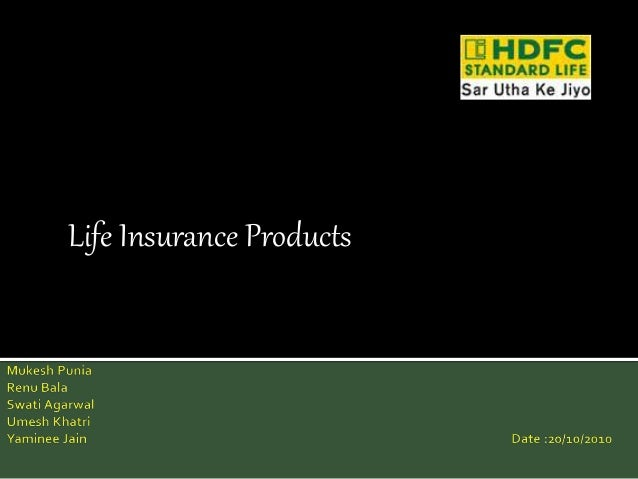Life Insurance Products
