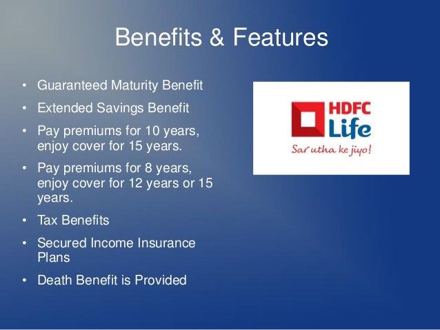"literature review of hdfc life insurance company Life insurance is an agreement between policy holder and insurance company, which gives assurance to the rest of the family business individual and institution as corporate agents has helped agency to increase the revenue literature review ""life insurance (or life assurance, especially in the."
