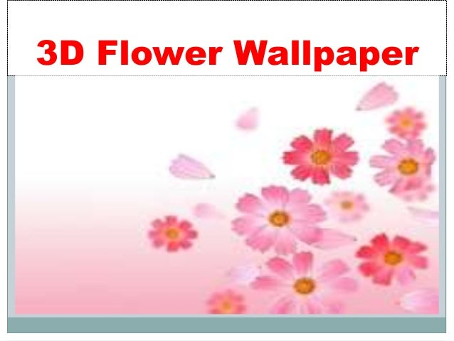 3d Hd Wallpapers Flowers