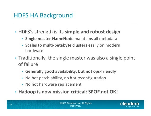 What's New and Upcoming in HDFS - the Hadoop Distributed ...