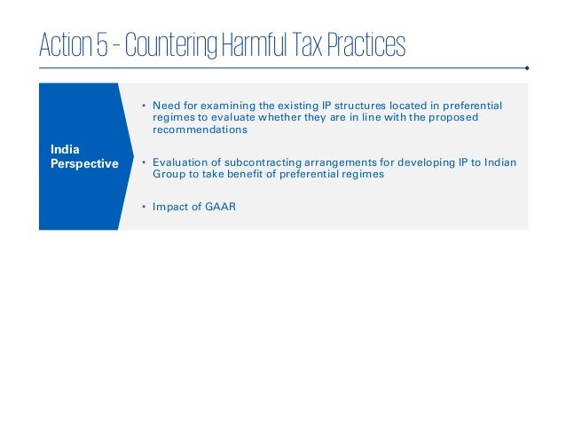 impact of general anti avoidance rule in india 2017 kpmg, an indian registered partnership and a member firm of the kpmg network of independent member firms affiliated with kpmg the provisions relating to the general anti avoidance rules (gaar) contained in chapter x-a of the income-tax the tax impact of inr3 crores should be.