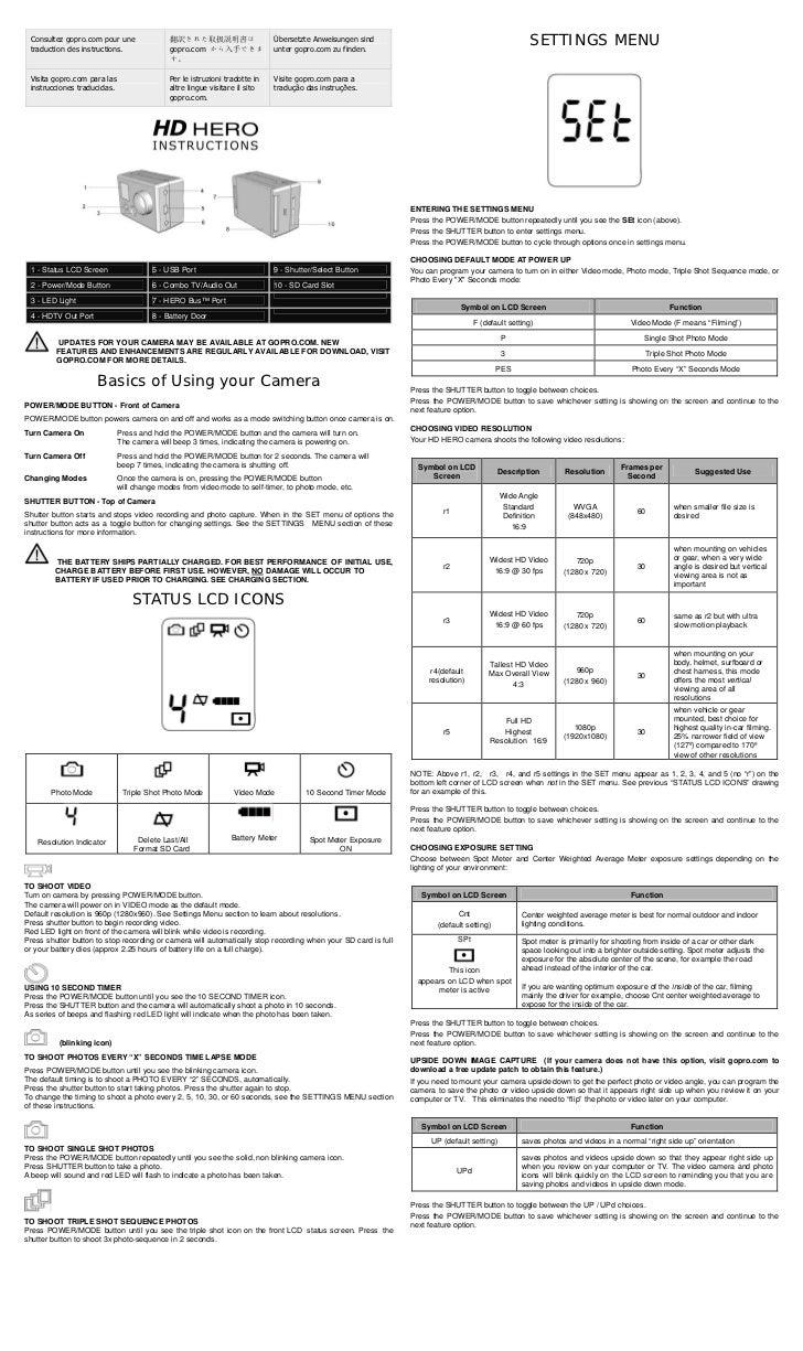 Consultez gopro.com pour une traduction des instructions.