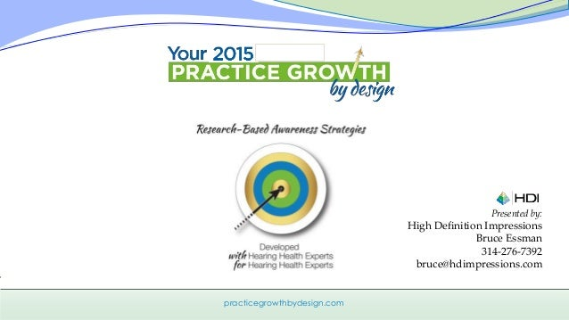 Hdi Home Design Ideas: Practice Growth By Design 2015